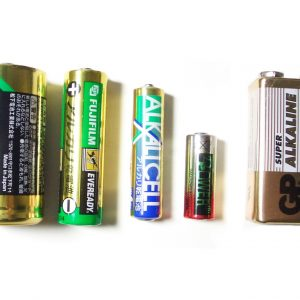 Batteries & Holders